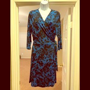 Vince Camuto Floral Wrap Dress